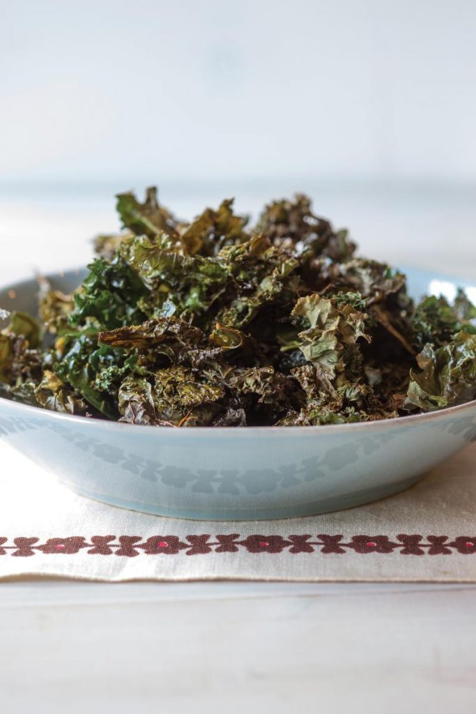 Kale Chips Recipe from Eat Right for Your Sight Cookbook for Macular Degeneration