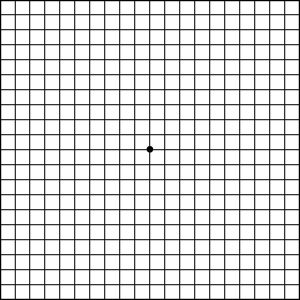 Amsler's Chart to Test Your Sight