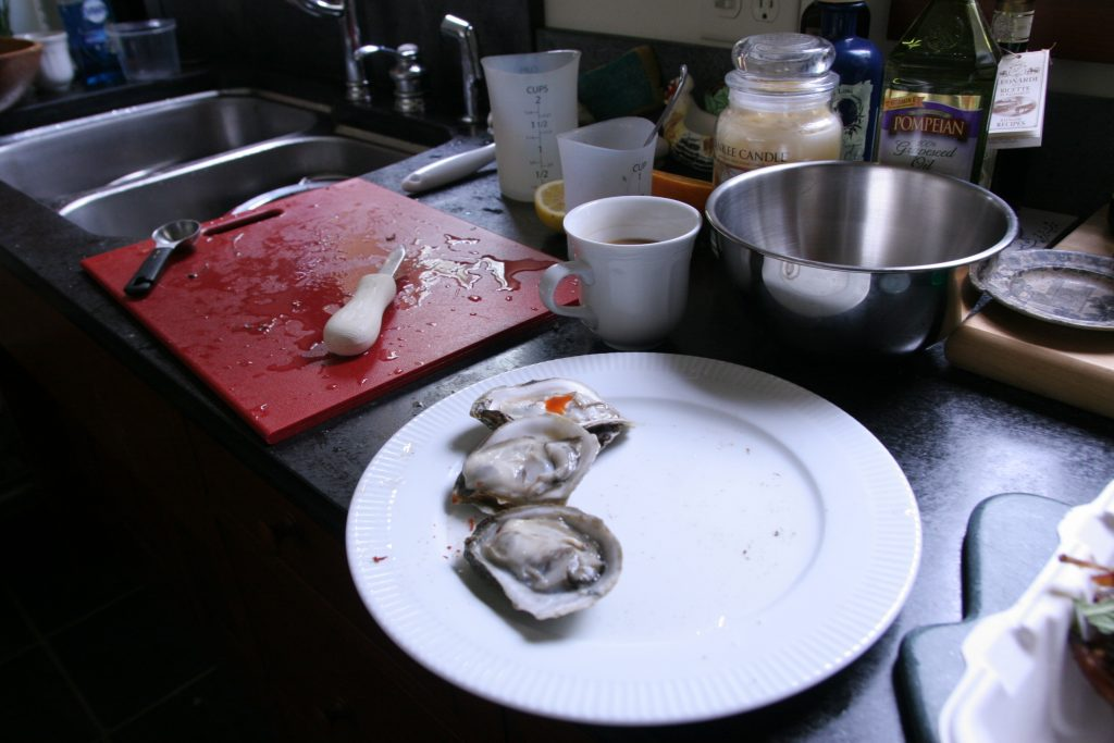 AMDF Oysters on the Half Shell