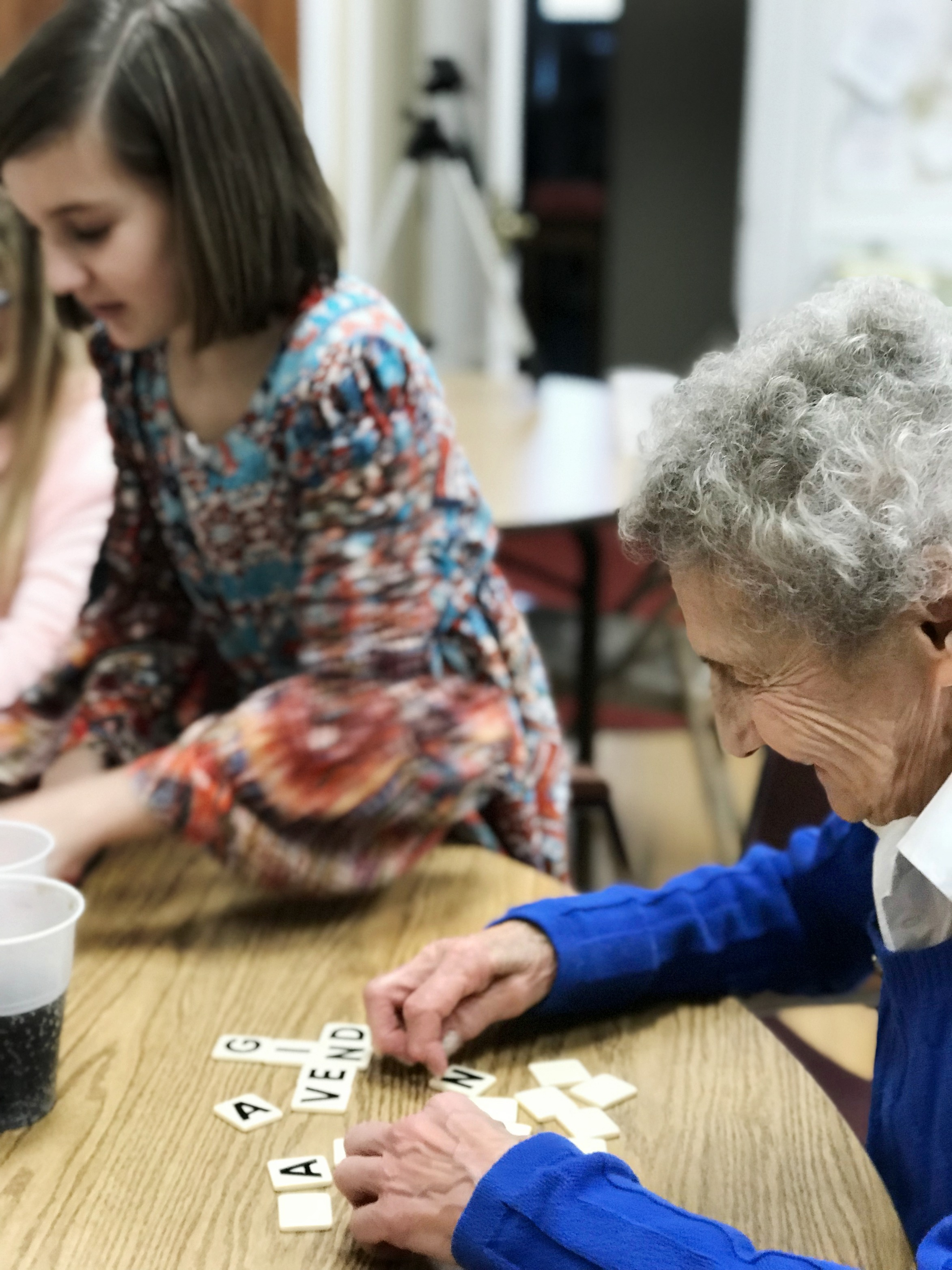 Big Letter Bananagrams Multi-Generational Play