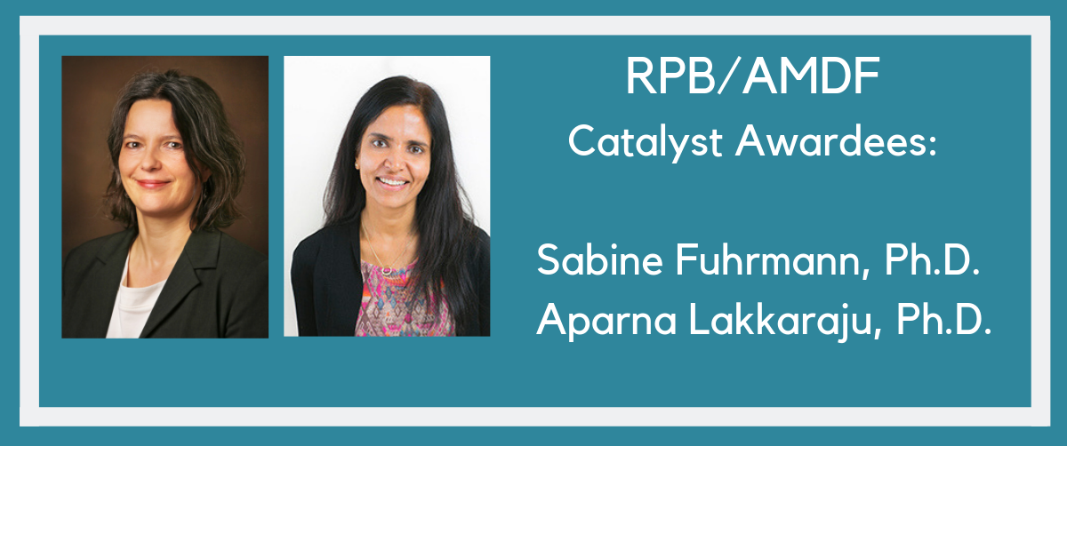RPB AMDF Catalyst Grant Awardees